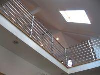 Hand Made Modern Interior Railing by Bader Art Metal ...