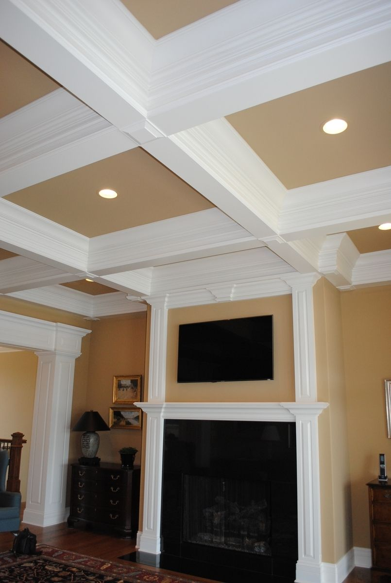 Hand Crafted Ceiling Treatments By Chc Woodworks