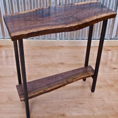 Custom Made Sofa Tables Pink Dating Site Handmade Walnut Console Table By Witness Tree Studios