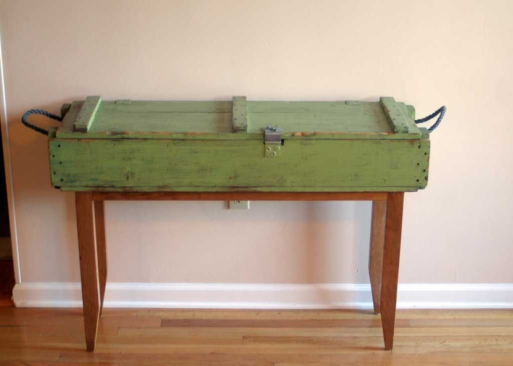 Coffee Table Custom Man Wooden Cave