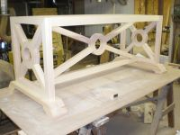 Handmade Custom Maple Dining Room Table Base by Red Barn