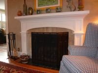 Custom Craftsman Fireplace Surround by Homecoming ...