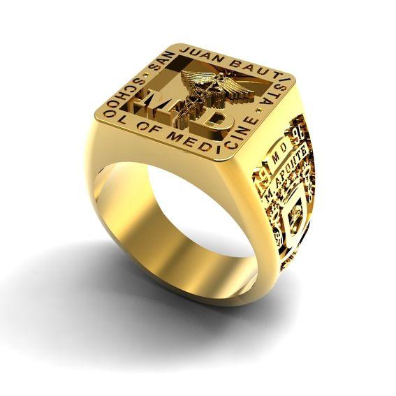 Handmade Mens Custom Signet Ring by Jewelryking Design