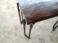 Custom Made Reclaimed Wood Coffee Table/ End Table With