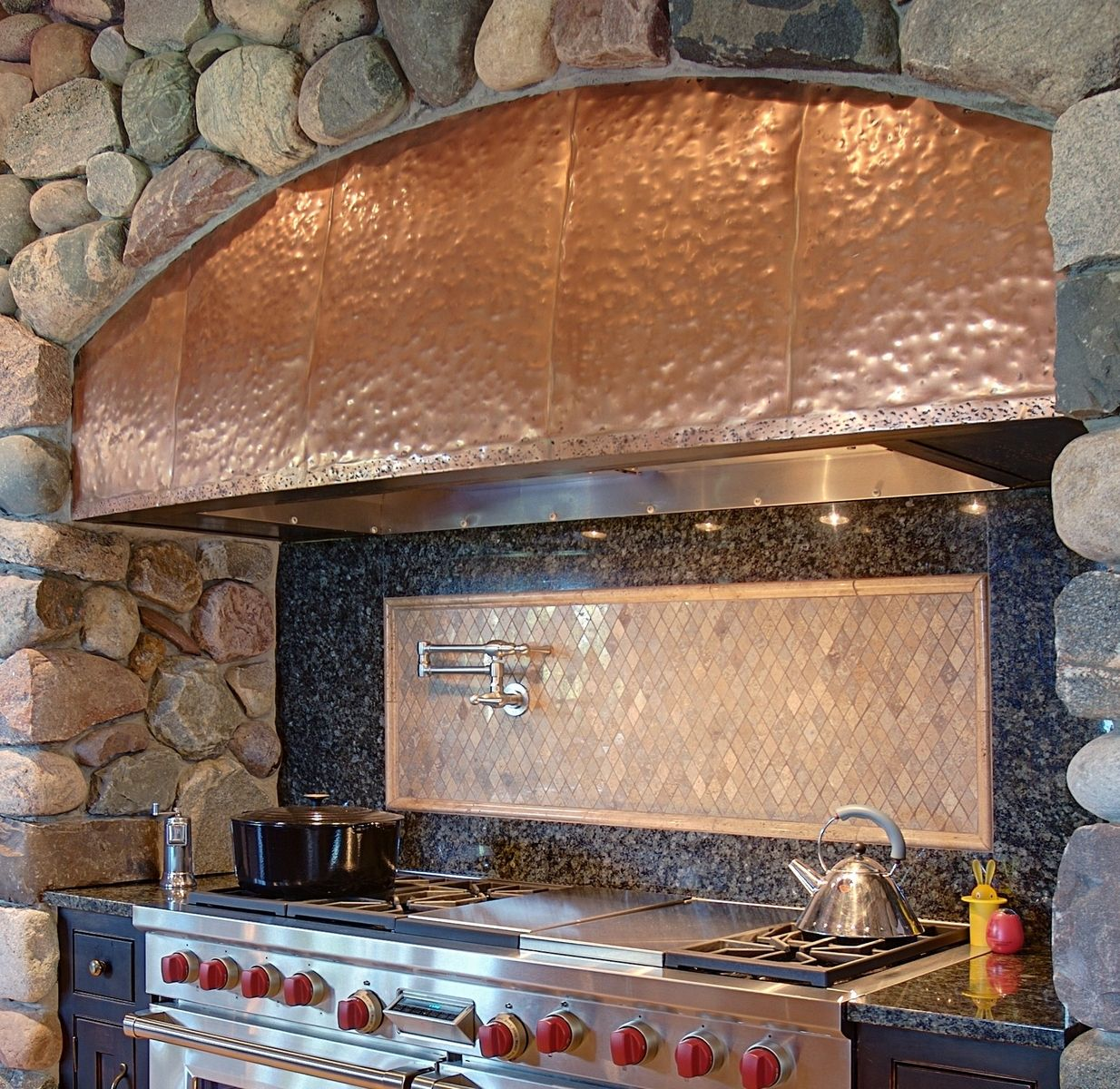 country kitchen range hoods tiny house appliances custom mcnabb copper hood by north shore iron