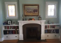 Hand Made Custom Fireplace Surrounds In Denver Hardwood ...