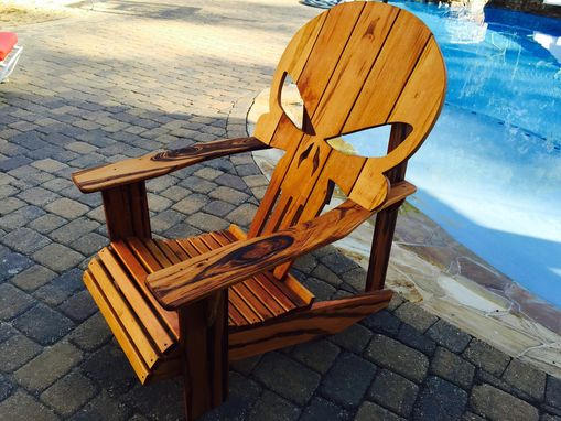 wooden skull chair fit ball buy a custom adirondack chair, made to order from carolina wood designs | custommade.com