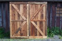 Buy a Hand Crafted Vintage Barn Doors Made From Reclaimed ...