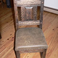 Southwest Dining Chairs Chair Cover Rentals Bronx Ny Hand Crafted Distressed With Leather Seat By Custom Made