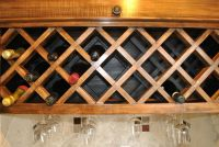 Cabinet Mounted Wine Rack