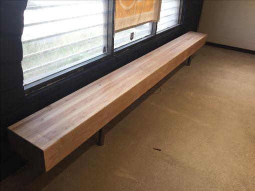 Hand Made Glulam Beam Bench By Make Studios