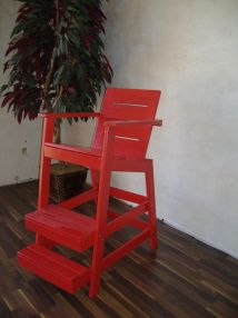 Hand Cypress Lifeguard Chair Woodvisions