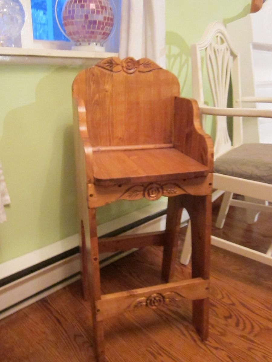 Hand Crafted High Chair For Older Children by Eugenie