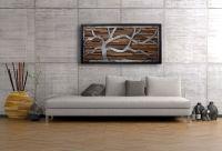 Handmade Reclaimed Wood Wall Art Made Of Old Barnwood And ...