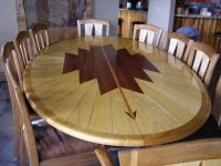 Hand Made Dining Table And Chairs by special tree ...