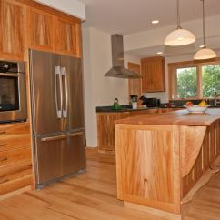 American Kitchen Cabinets Shelf Birdseye Maple Design Ideas