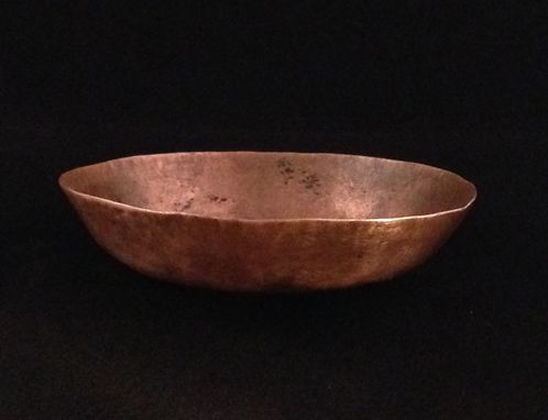 Hand Made Handmade Hammered Copper Bowl by DEBRA