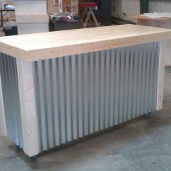 Corrugated Steel Chair Rail Cover And Sash Hire Newcastle Handmade Metal Bar By Ambassador Woodcrafts | Custommade.com