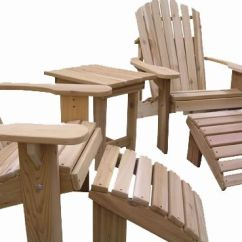 Adirondack Chair Kit Round Chairs For Sale Custom Set By Garden Furniture Mill