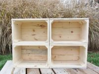 Hand Crafted Small Wood Crate Stackable Made From ...