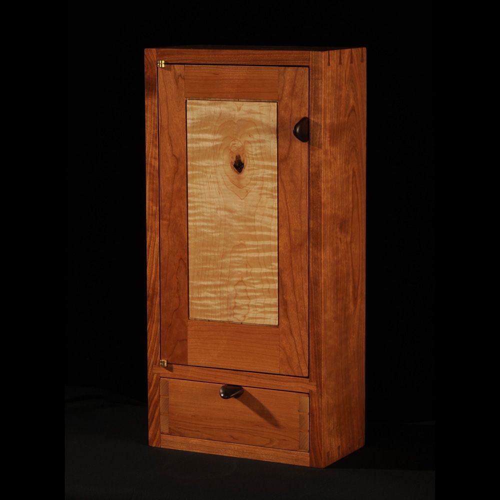Custom Made CherryMaple Wall Cabinet by Blackstone Design  CustomMadecom