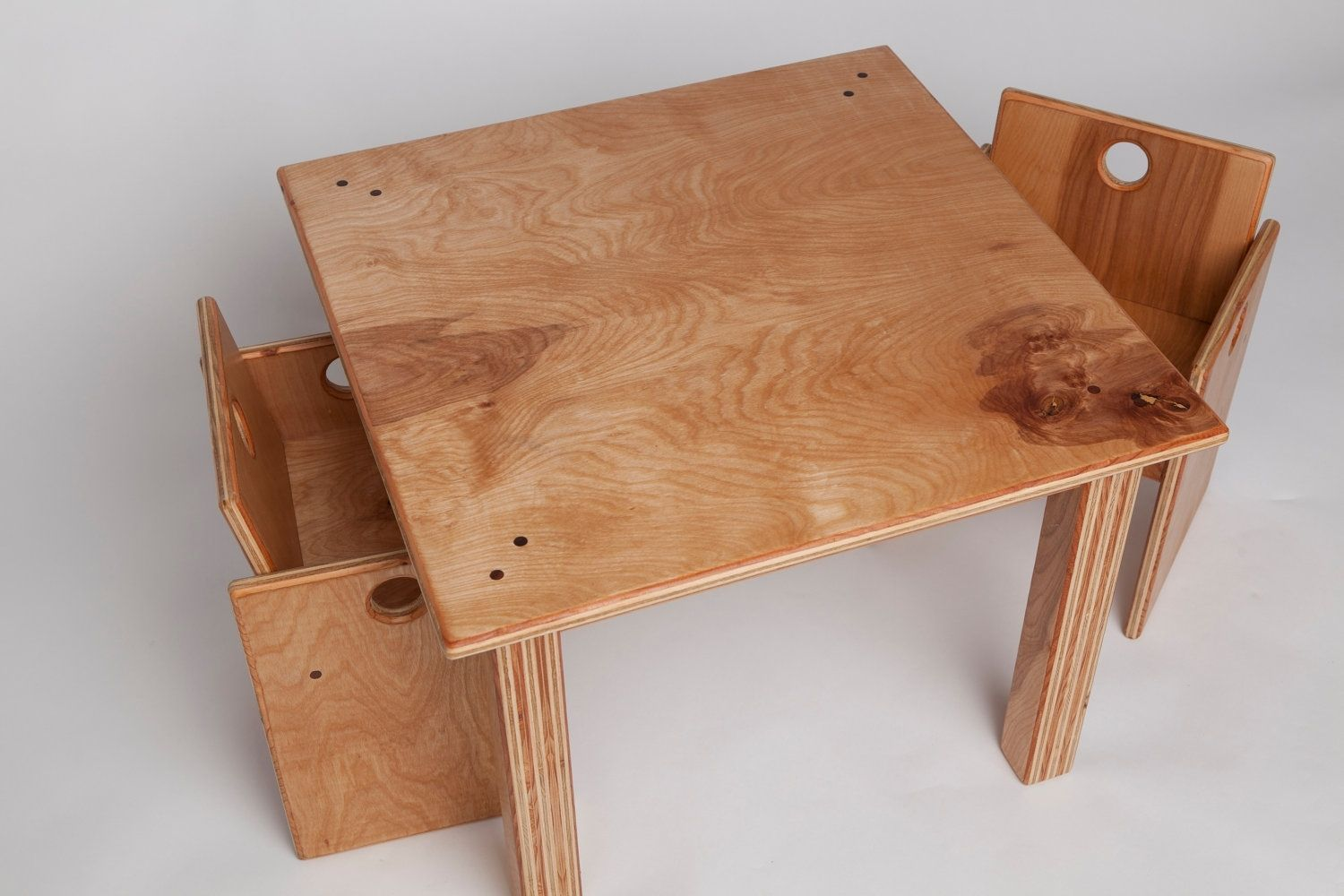 Wooden Table And Chairs Custom Made Children 39s Wooden Table And Chair Set By Fast