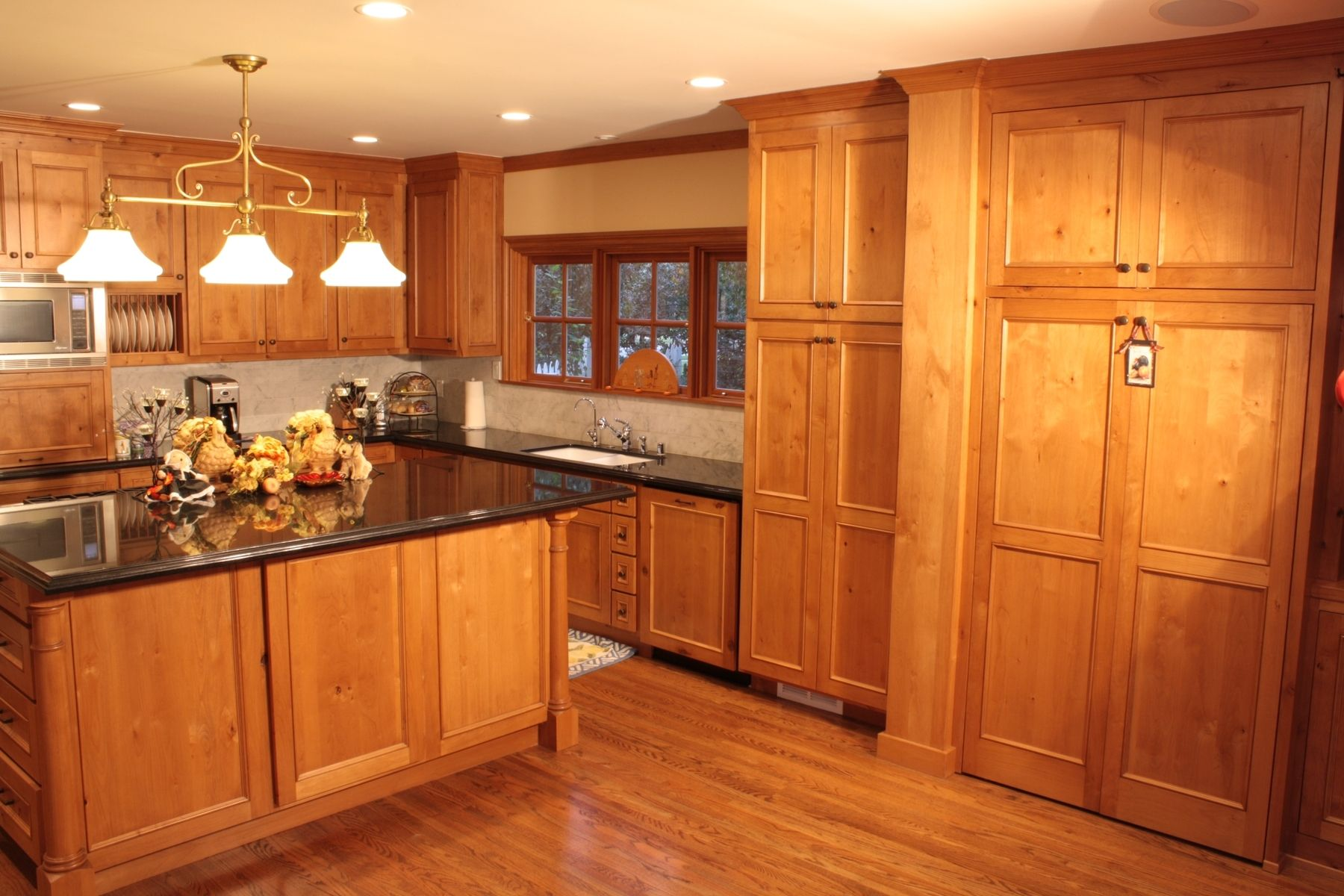 island inspired living room furniture jbl lsr305 hand made knotty pine kitchen and entertainment center by ...