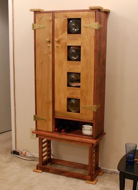 Custom Made Liquor Cabinet By Discriminating Designs