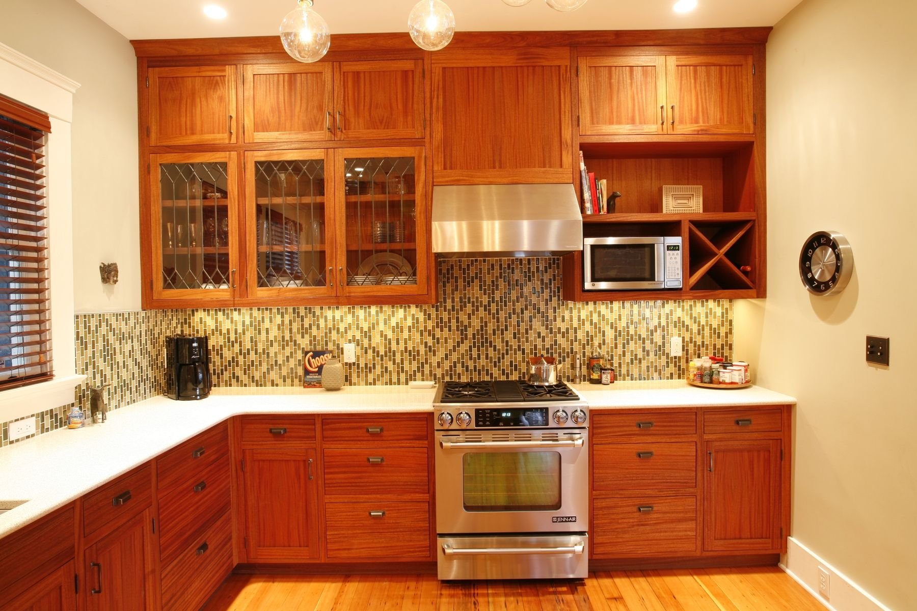 mahogany kitchen cabinets white appliance custom african by brooks woodworks