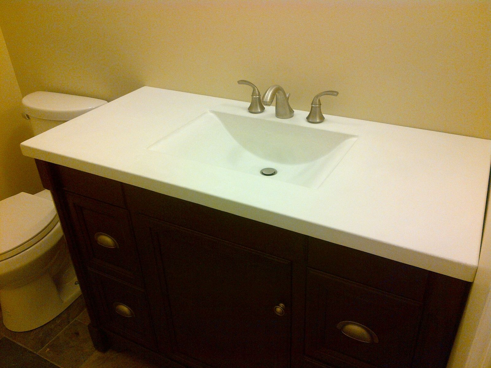 Custom Made Wave Sink By Schurger Concrete Abstracts