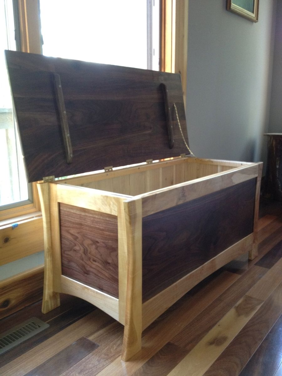 Custom Lorie Hope Chest By Drake Woodworking