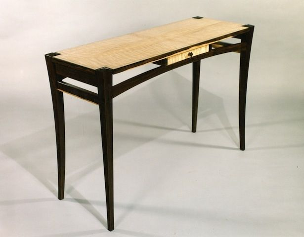 Custom Made Hall Table By Mykiss Fine Woodworking