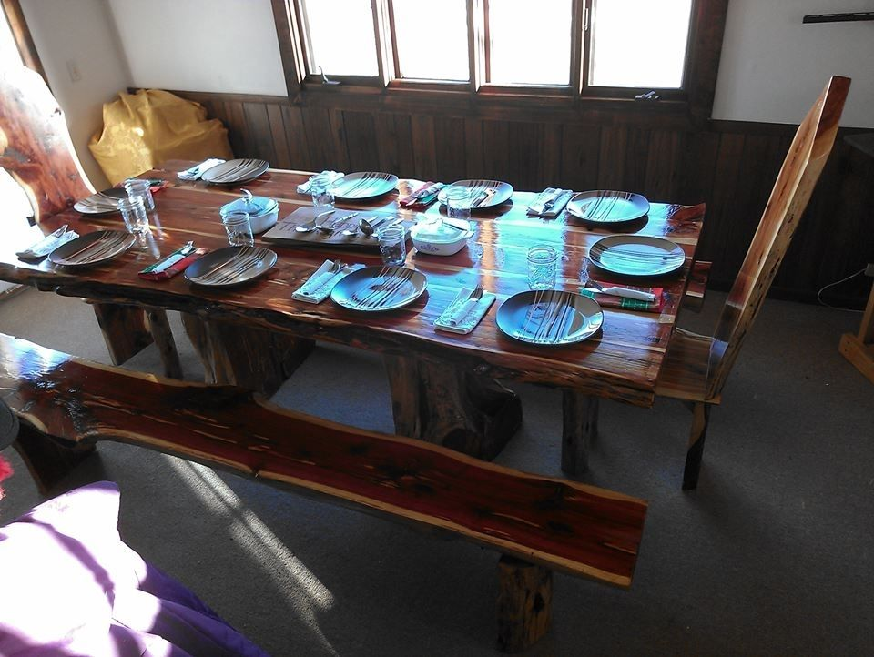 Table Dining Rustic Look