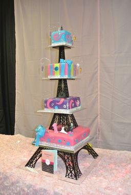 Buy a Hand Crafted Acrylic Eiffel Tower Cake Stand made to order from Artifacture  CustomMadecom