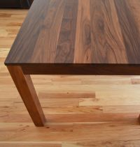 Custom Made Solid Walnut Dining Table by Fabitecture ...