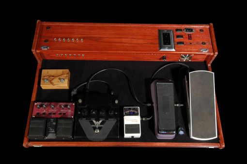 Hand Made Pedal Board by Donoghue Wood Works  CustomMadecom