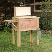 Handmade Wooden Patio Cooler Order