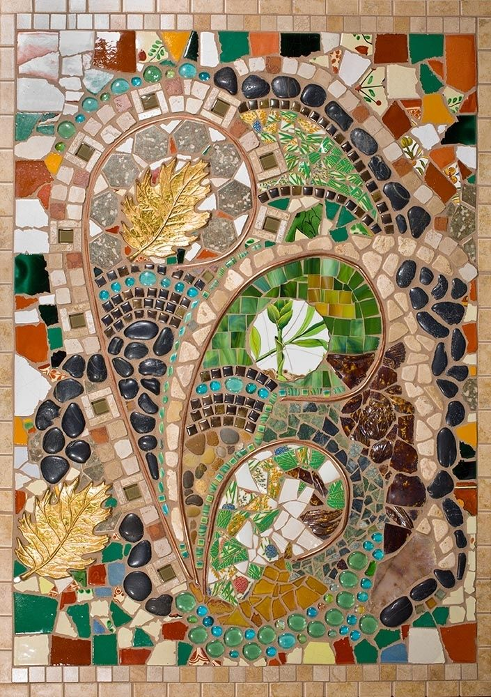 Hand Made Mixed Media Mosaic Wall Art by Tina Shoys Mosaic Artist  CustomMadecom