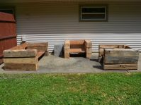Handmade Outdoor Chairs And Sofa Made From Reclaimed Barn ...