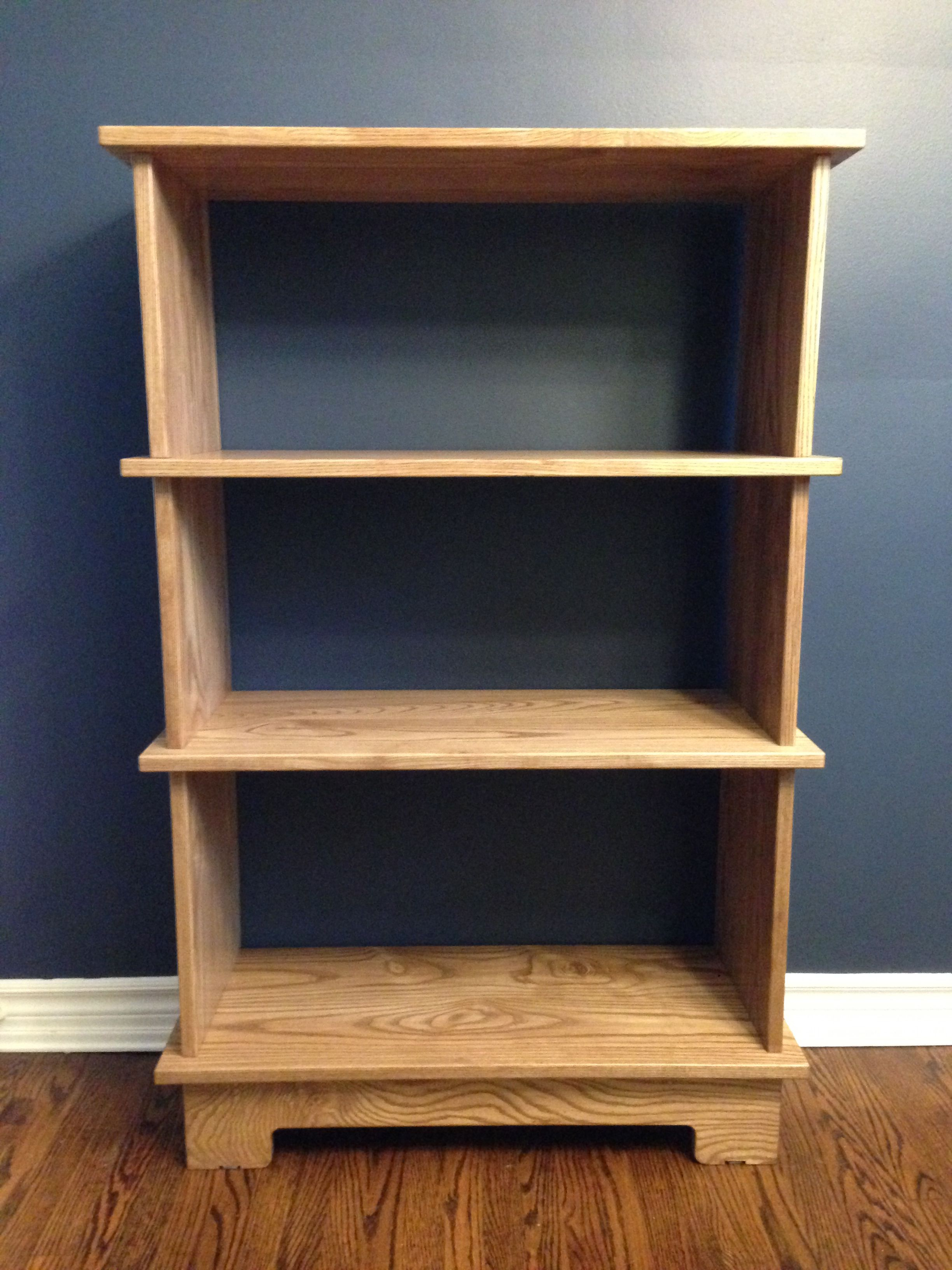 Hand Crafted Solid Ash Bookcase By Span Audio Custommade