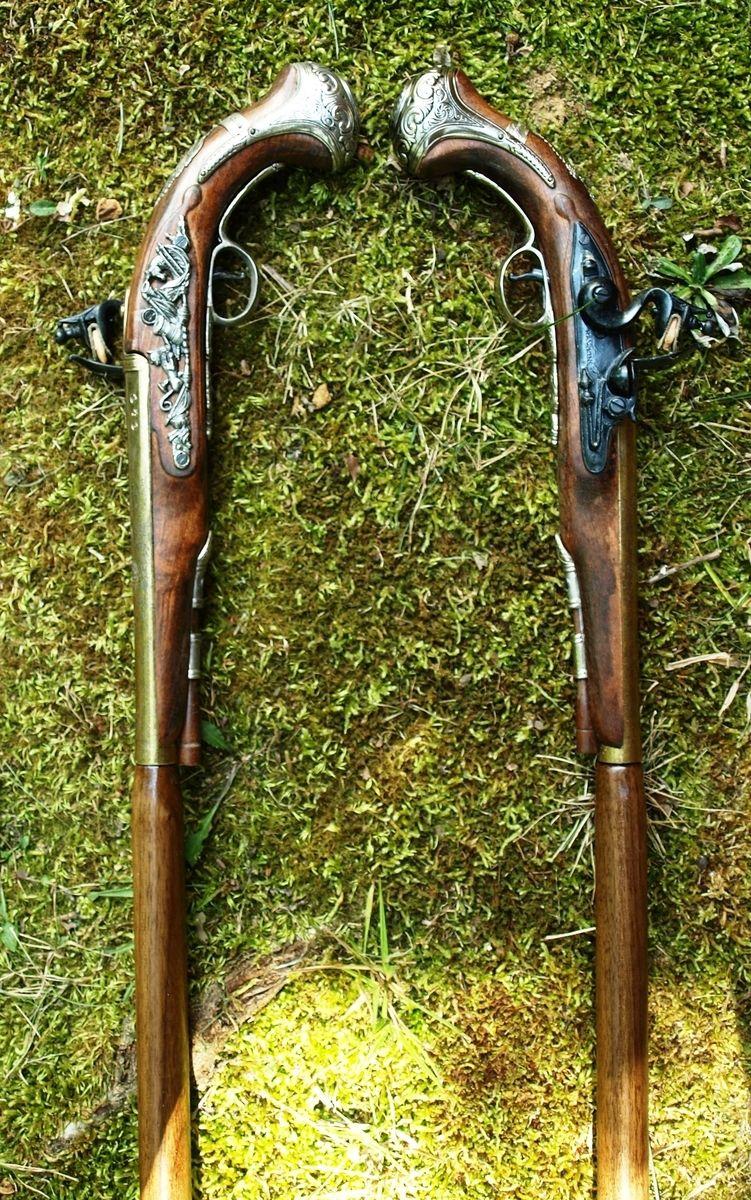 Handmade Dueling Canes by QuotableWalkingStick