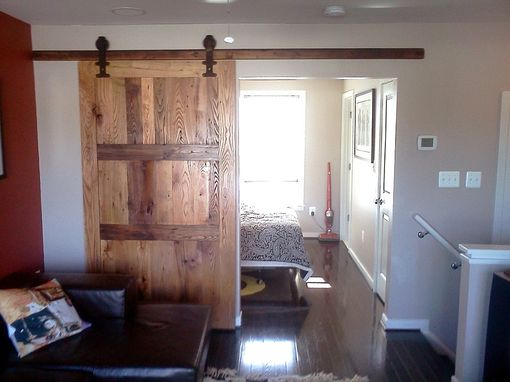 Buy A Custom Reclaimed Wood Sliding Barn Door With Vintage