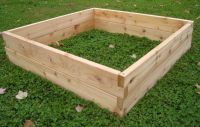 Custom Cedar Raised Garden Beds by Sunnyside Projects ...
