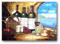 Hand Crafted Ceramic Tile Hand Painted Mural by Lomeli ...