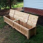 Handmade Custom Western Red Cedar Patio Storage Bench By Grant Kistler Designs Custommade Com