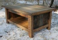 Hand Crafted Rustic Reclaimed Coffee Table by Echo Peak ...
