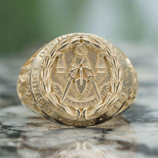 Custom Masonic Rings Design Freemason Ring