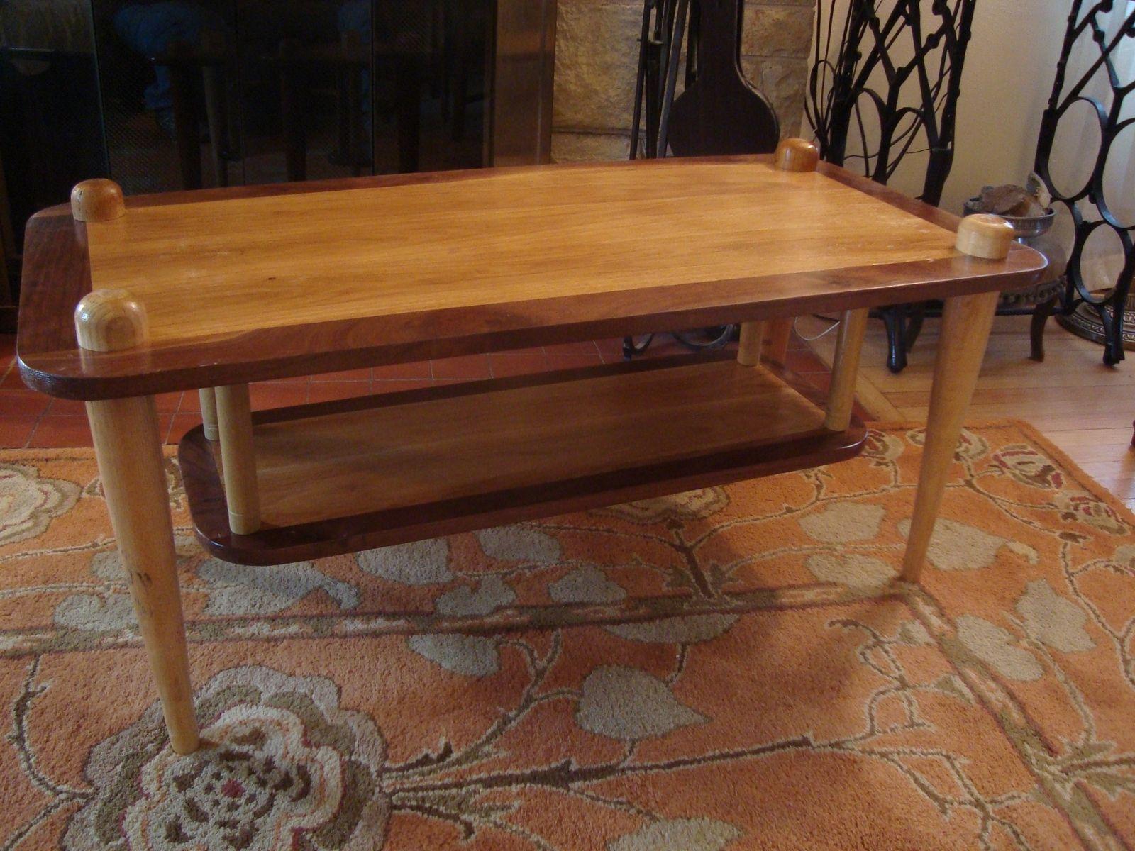 baseball desk chair metal chairs walmart custom made bat coffee table by uncommon