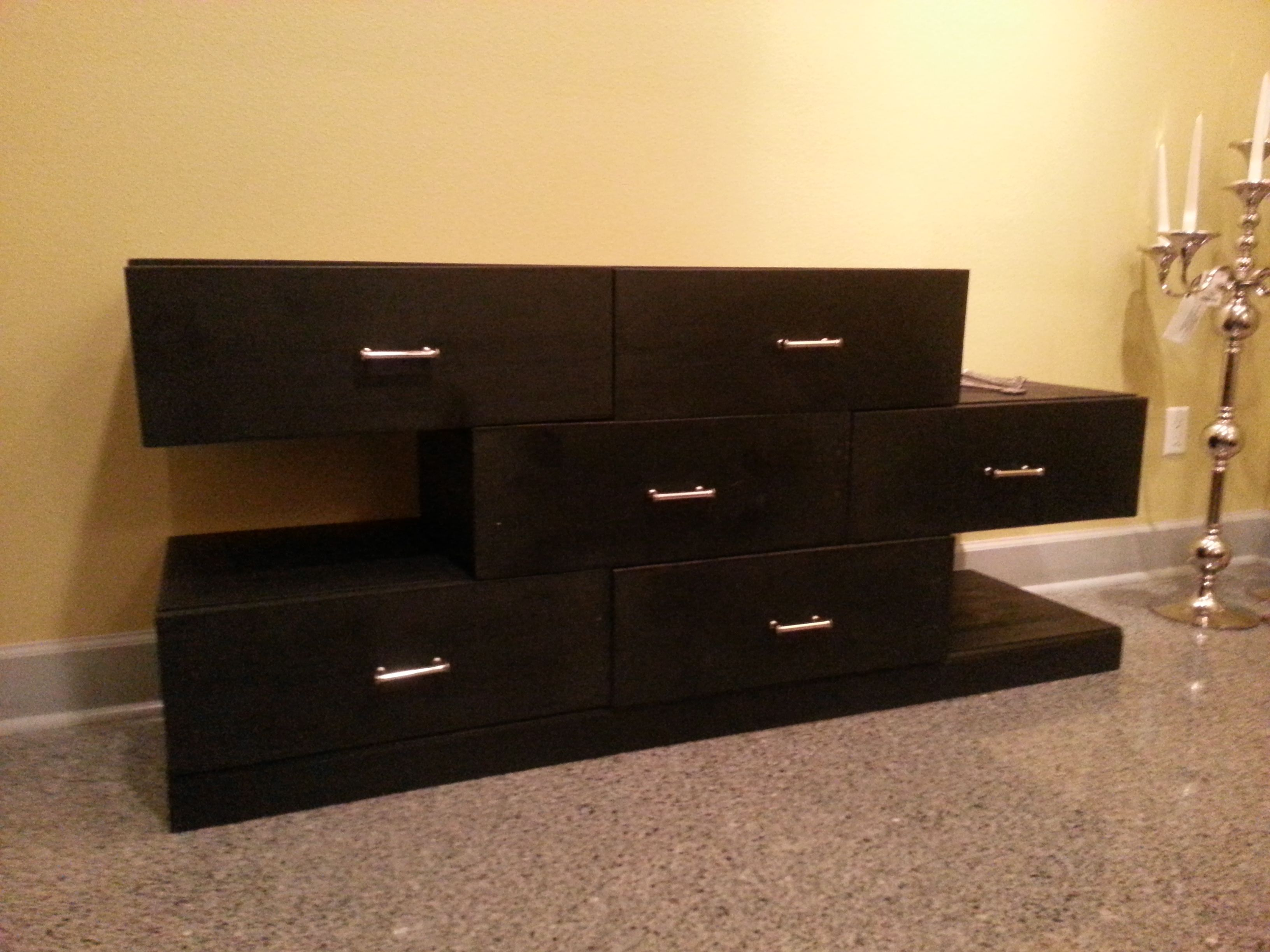 Buy a Custom Made Modern Dresser made to order from Jordon LeGault Designs  CustomMadecom