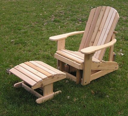 Custom Adirondack Chair by Woodwork By Stan  CustomMadecom